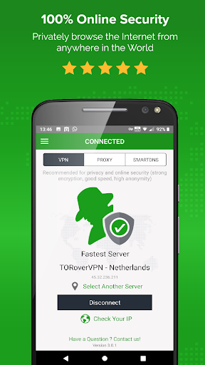 Unlimited VPN app - Simple and easy to use - ibVPN 3.4.1 screenshots 1