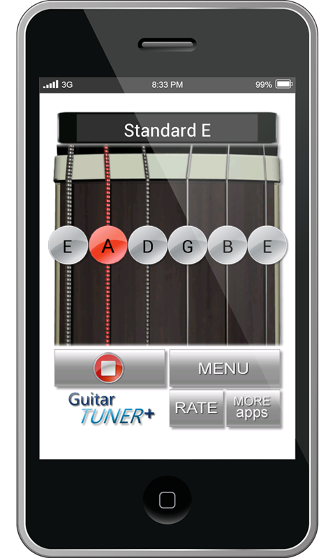 guitar tunings plus android apps on google play. Black Bedroom Furniture Sets. Home Design Ideas