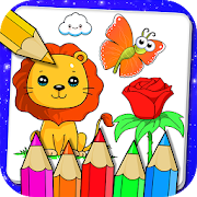 Drawing and Coloring Book Game‏