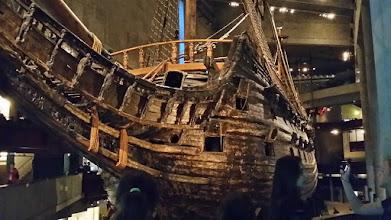 Photo: 2. den - Muzeum lodi Vasa (Vasamuseet, Stockholm)