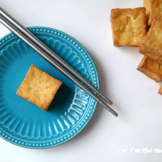 Crispy Pan Fried Tofu.