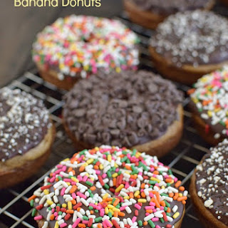 Sour Cream Banana Donuts