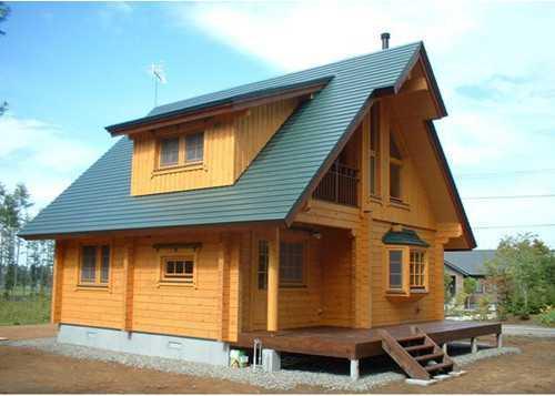 ... Wooden House Design Ideas Screenshot 5 ...