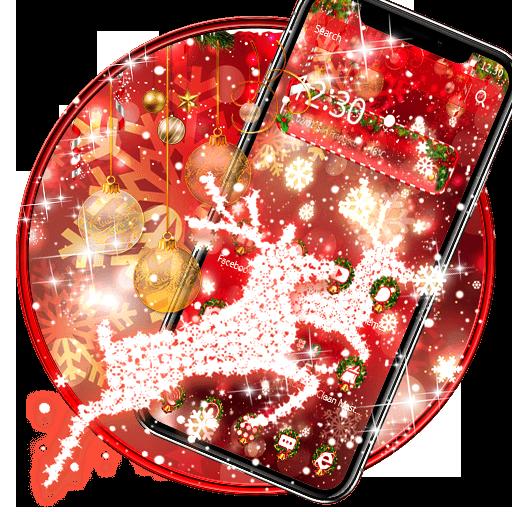 Christmas Deer Theme