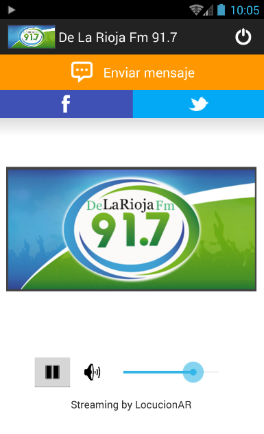 De La Rioja Fm 91.7- screenshot