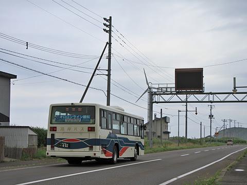 沿岸バス「豊富留萌線」  ・402 上平にて