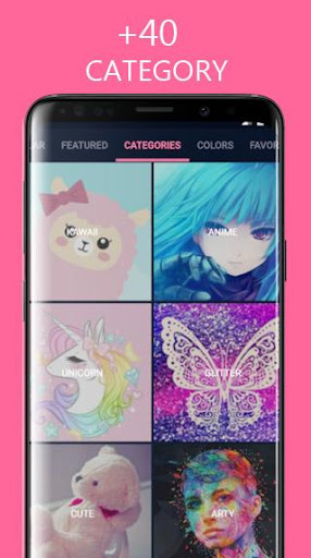 Girly Wallpapers Backgrounds 3.1 gameplay | AndroidFC 1