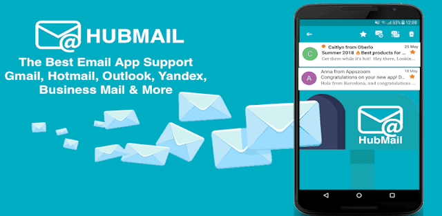 Email mailbox Pro app for Android