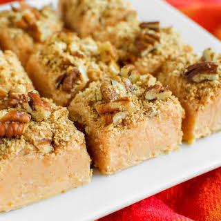 Easy Pumpkin Pie Fudge.