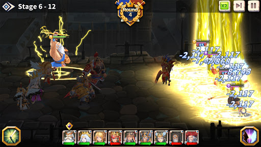 WITH HEROES - IDLE RPG screenshots 8