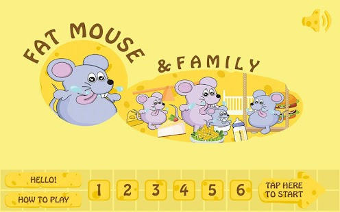 Fat Mouse: Arcade Family Games - náhled