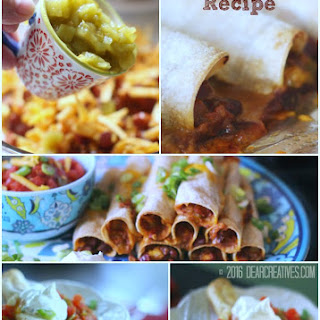 30 Minute Restaurant Style Baked Taquitos