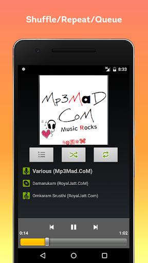 Default Music Player 2M screenshots 1