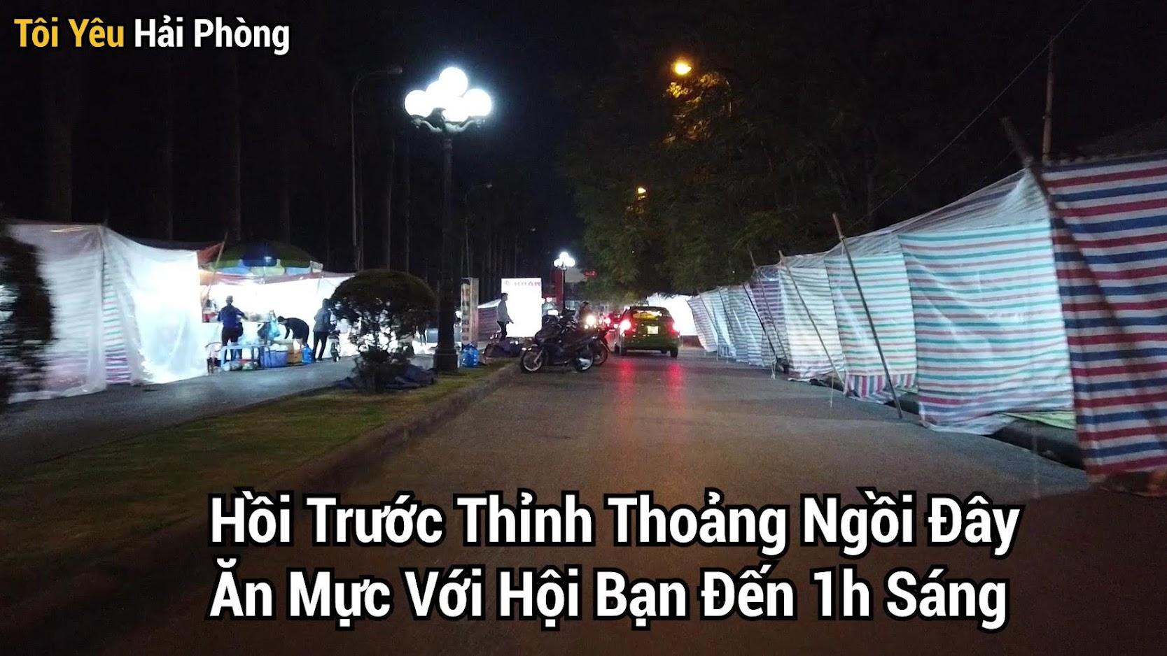 Ăn mực đêm ở Hồ Đào tại Hải Phòng 3