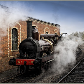 historic steam by Sandy Crowe - Transportation Trains (  )