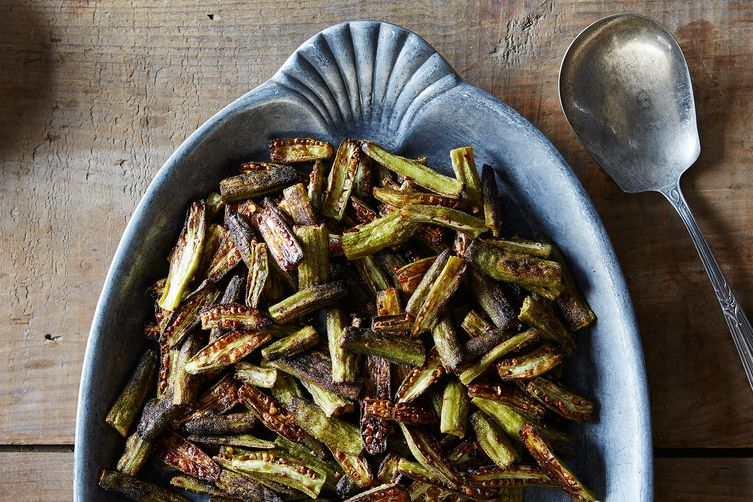 A slim-free way to make okra