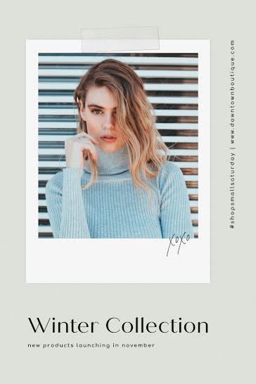Downtown Boutique - Postcard template