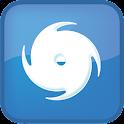 台風情報- 雨雲の接近や台風の進路がわかるの気象予報アプリ icon