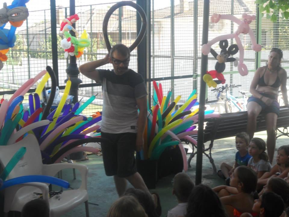 Taller de Globoflexia mago madrid Cebreros tiene magia