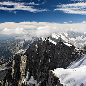 Mount Blanc by Mihaila Cristian - Landscapes Mountains & Hills