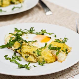 Breakfast Spaghetti Squash Egg Nests Recipe