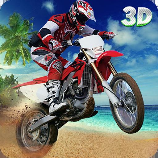 Beach Bike Extreme Stunts 3D