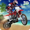 Beach Bike Extreme Stunts 3D icon