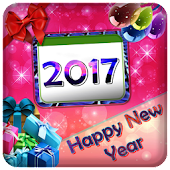 New Year Photo Frame 2017