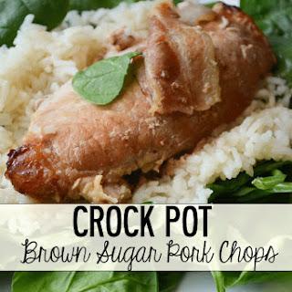 Crock Pot Brown Sugar Pork Chops.