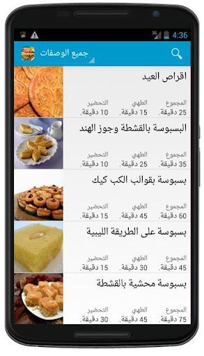 حلويات سورية بدون انترنت
