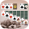 Solitaire Cute Puppies apk