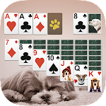 Solitaire Cute Puppies Icon