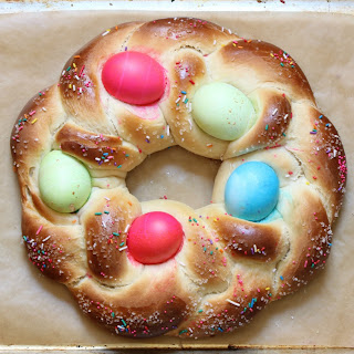 How to Make Braided Easter Egg Bread