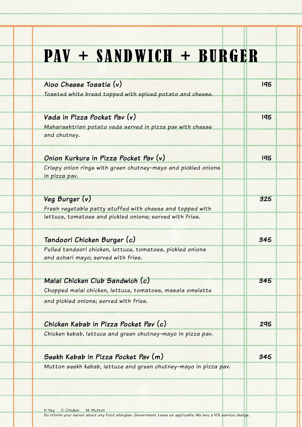 The Market Project by PizzaExpress menu 12