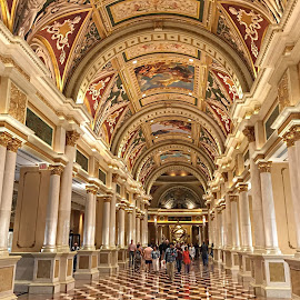 Venetian Hotel by Millieanne T - Buildings & Architecture Other Interior