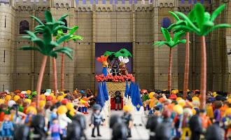 La Semana Santa de Almería, de playmobil