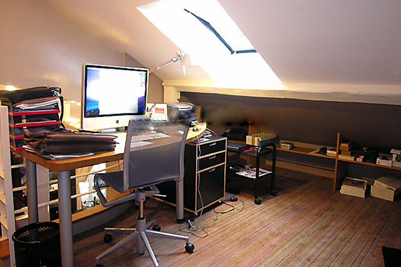 Office space at Pantheon apartment