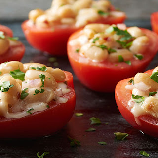 Grilled Stuffed Tomatoes.