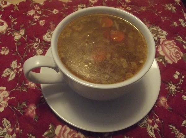 Beef Shank Bone Soup Recipe