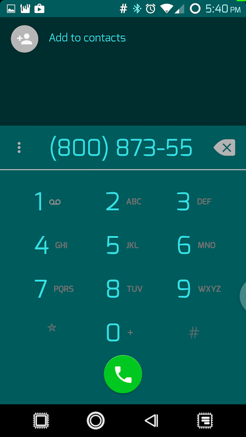 PCB Cyan ⁞ CM13 Theme- screenshot