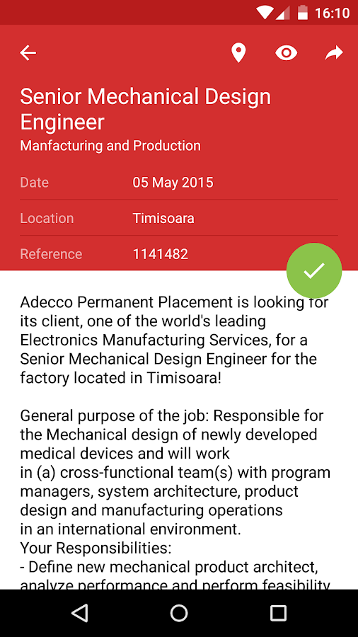 adecco job application