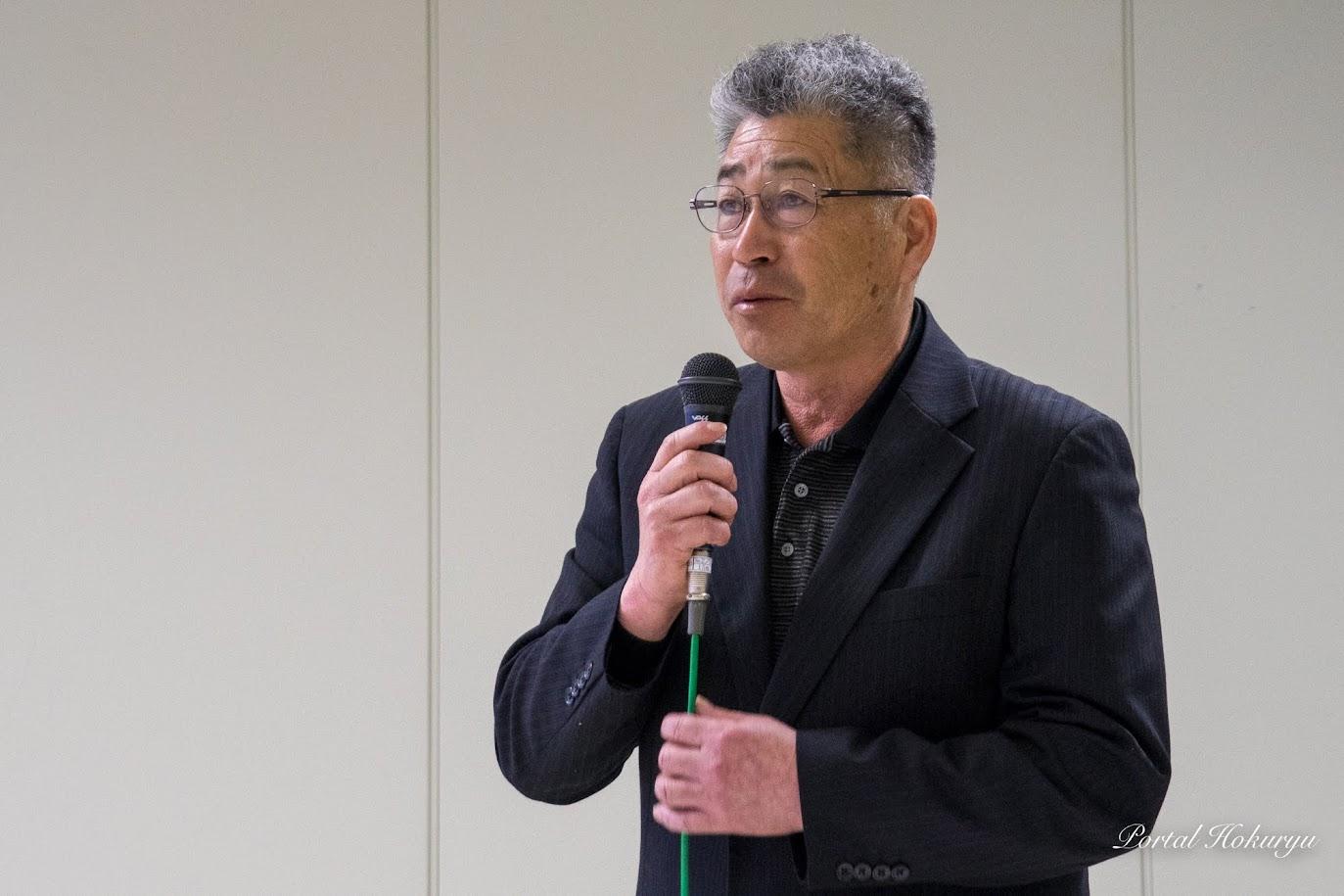 NPO法人北海道有機農業研究協議会・佐藤稔 常務理事
