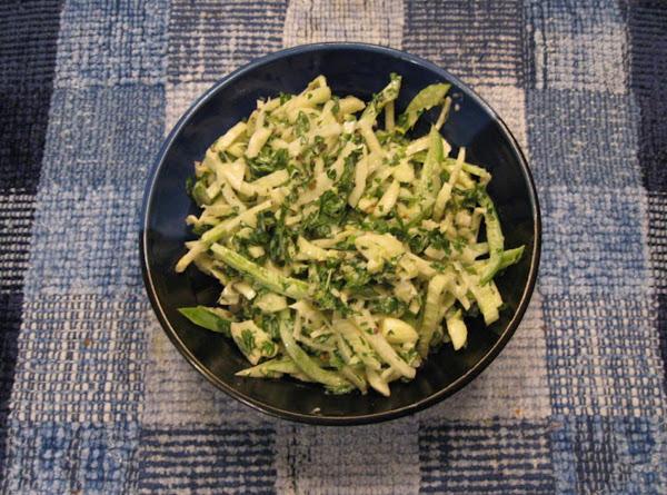 Fennel-parsley Slaw Recipe