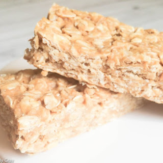 Peanut Butter, Honey, and Oatmeal Bars