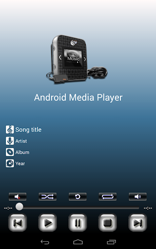 Android Media Player screenshot 7