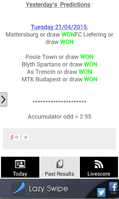 Bet of the Day - screenshot