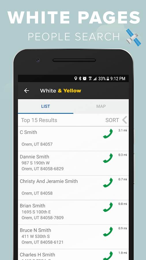 White yellow pages android apps on google play white yellow pages screenshot fandeluxe Choice Image