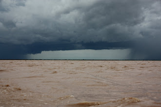 Photo: Year 2 Day 41 -  Break in the Storm on Tonle Sap Lake