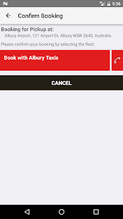 Albury Taxis- screenshot thumbnail