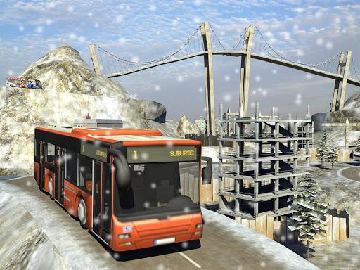 Snow Hill Bus Drivingsimulator 1.2 screenshots 7